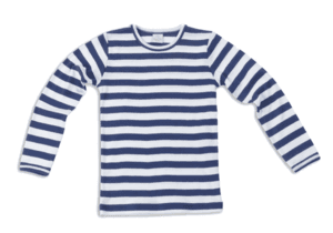 Smallstuff bluse, stribet navy og hvid