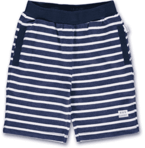 bombiBitt sailor shorts med elastik, stribet