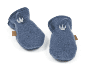 Smallstuff vanter i uldfleece, denim