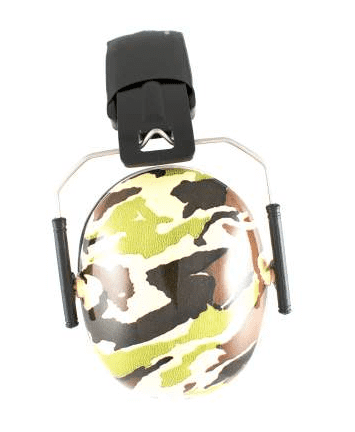 4527aa6dac8 Baby Banz høreværn til børn, camo grøn
