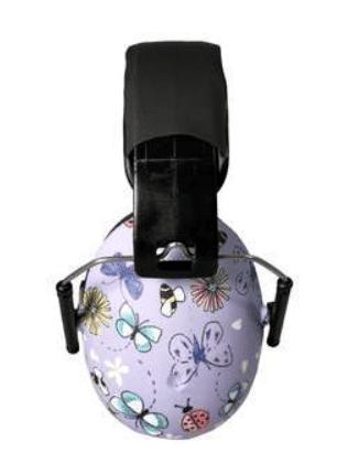 3bafabf4dd4 Baby Banz høreværn til børn 2-10 år, sommerfugle