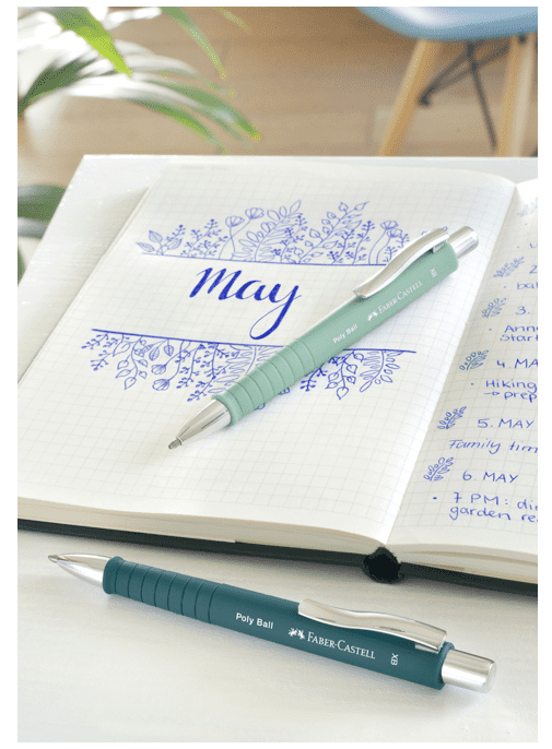 Faber-Castell Poly Ball XB kuglepen med grip