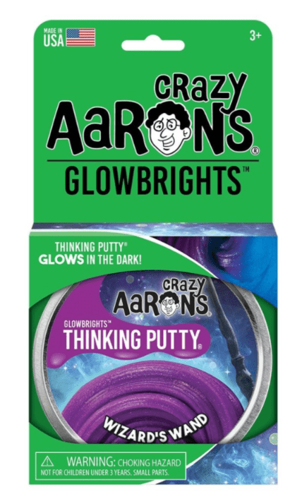 Crazy Aarons putty slim mega, Glowbrights Wizards Wand