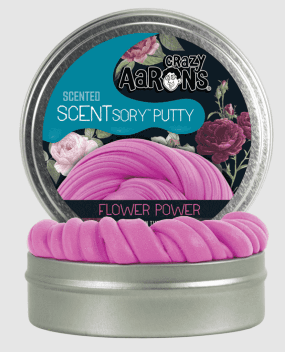Crazy Aarons putty medium, Scentsory Flower Power - duft af blomster