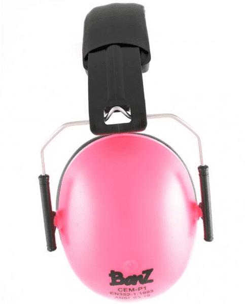 aab52661123 Baby banz høreværn til børn, pink