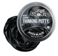 Crazy Aarons putty slim mini, Chrome Pitch Black