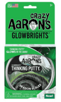Crazy Aarons putty slim mega, Glowbrights Dragon Scales