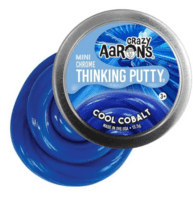 Crazy Aarons putty slim mini, Chrome Cool Cobalt