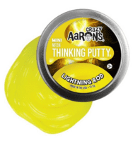 Crazy Aarons putty slim mini, Neon Lightning Rod