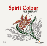 Spirit Colour Art Therapy 1 - malebog med mønstre